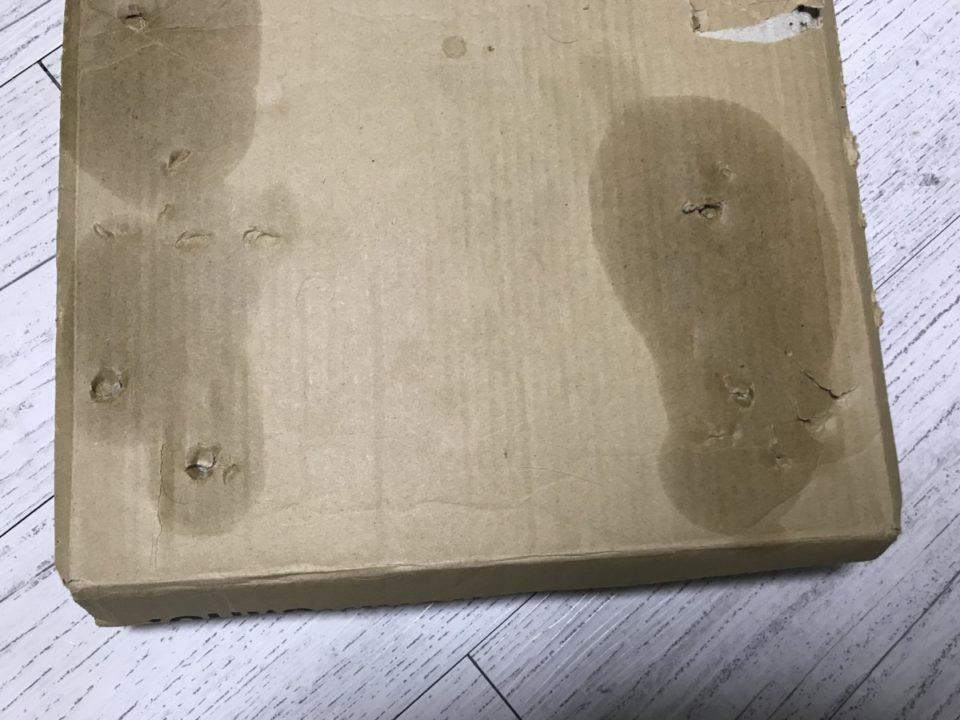床に付いたオイルブリード