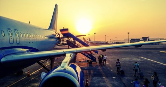空輸への影響